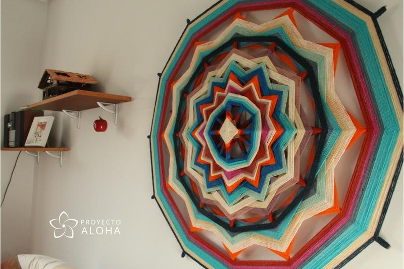 La belleza de lo simple mandala decoracion espacio