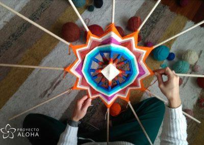 La belleza de lo simple mandala proceso de creacion