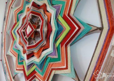 Urubamba mandala de lana tzicuri