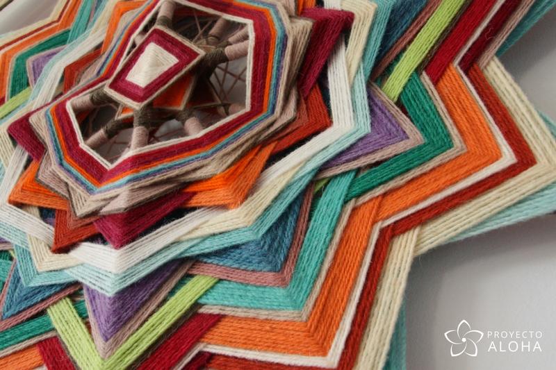 urubamba mandala de lana capas