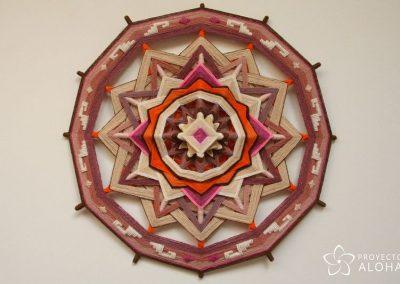 Calma Mandala de lana - Proyecto Aloha