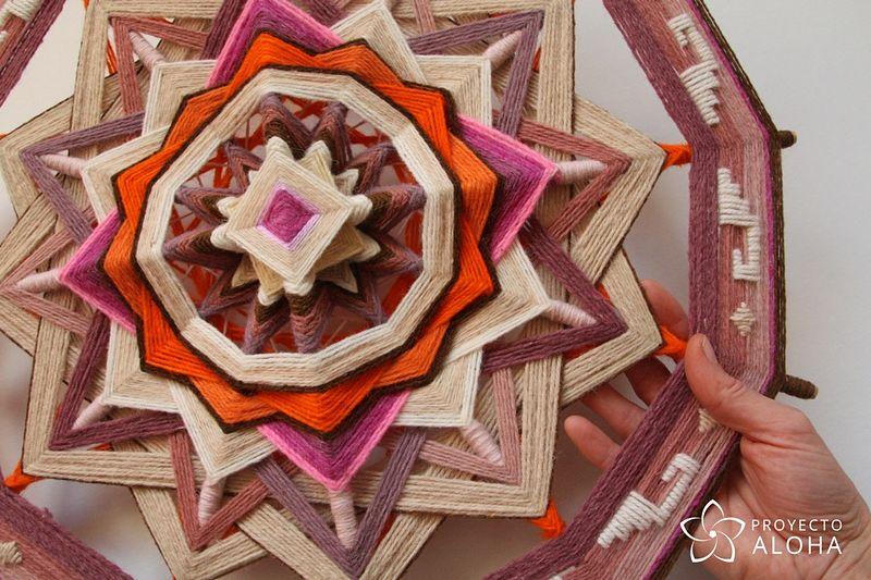 Calma Yarn Mandala Meditación