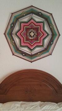 Mandala de lana Nieves 1