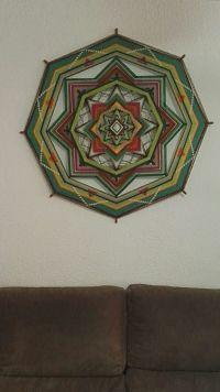 Mandala de lana Nieves 2
