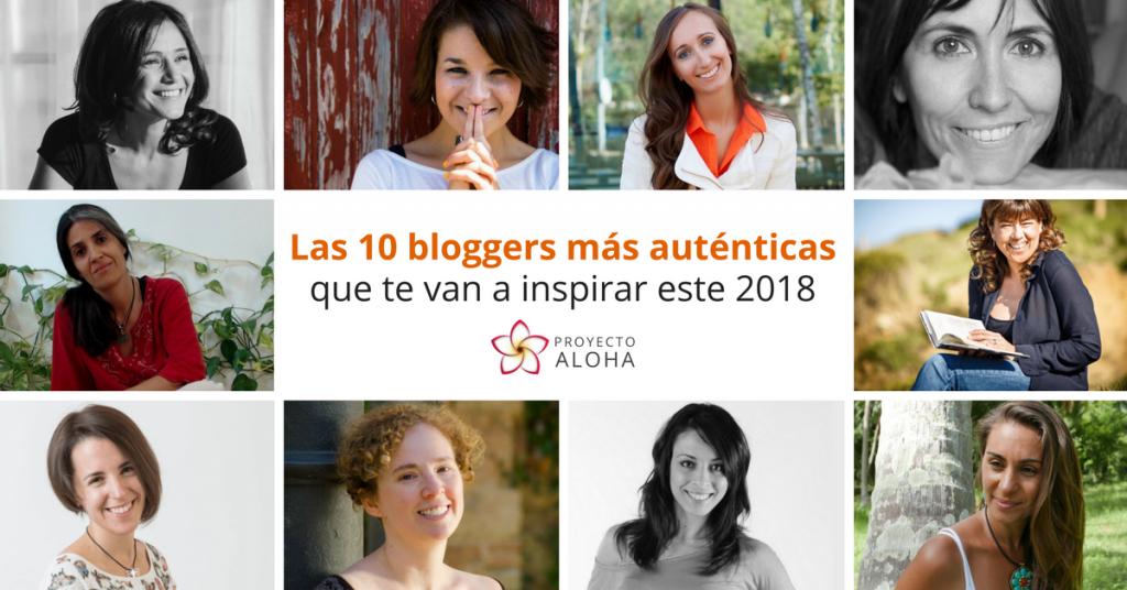 10 Bloggers más auténticas 2018